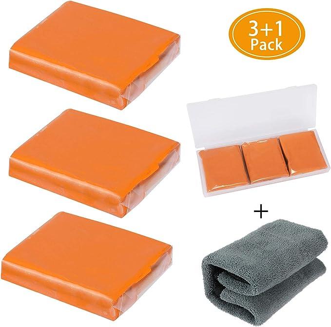 188 opinioni per Aimocar Barra di Argilla per Auto, 3 Confezione 100 g Auto Pulizia Clay Bar Kit