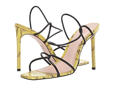Schutz Gabiele (Black/Lemon) Women