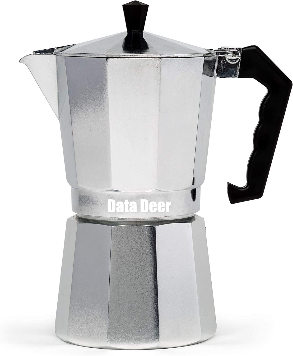 Data Deer Stovetop Espresso Maker with B Great Rich and Flavored New product! New type Excellence