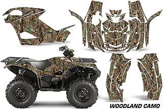 Yamaha Grizzly EPS/SE 2015-2016 ATV All Terrain Vehicle AMR Racing Graphic Kit Decal WOODLAND CAMO