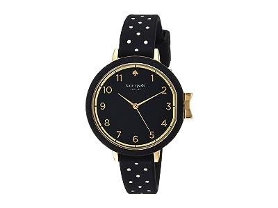 Kate Spade New York Park Row Silicone KSW1355 (Black/White) Watches