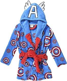 Bata de Casa Invierno del Capitán América-Licencia Oficial Marvel para Niños