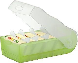 CROCO Lern-, Telefon-und Karteibox A8 (grün/trans./klar.)