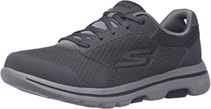 Skechers Gowalk 5 Qualify - Athletic Mesh Lace Up Performance Walking Shoe Sneaker mens Sneaker