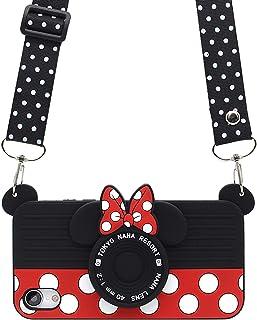 MC Fashion - Carcasa para iPhone XR, diseño de Mickey Mouse 3D para Adolescentes, niñas, Mujeres, a Prueba de Golpes y protección de Silicona Suave para Apple iPhone XR (2018), 6,1