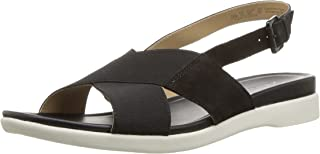 Naturalizer Womens Eliza Leather Open Toe Casual Slingback Sandals