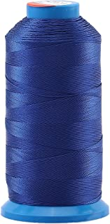 Selric [1500 Yards/Coated/No Unravel Guarantee/21 Colors Available] Heavy Duty Bonded Nylon Threads #69 T70 Size 210D/3 for Upholstery, Leather, Vinyl, and Other Heavy Fabric (Royal Blue)
