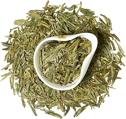 GOARTEA 250g (8.8 Oz) Top West Lake Xi Hu Xihu Dragon Well Long Jing Longjing Spring Leaf GREEN TEA