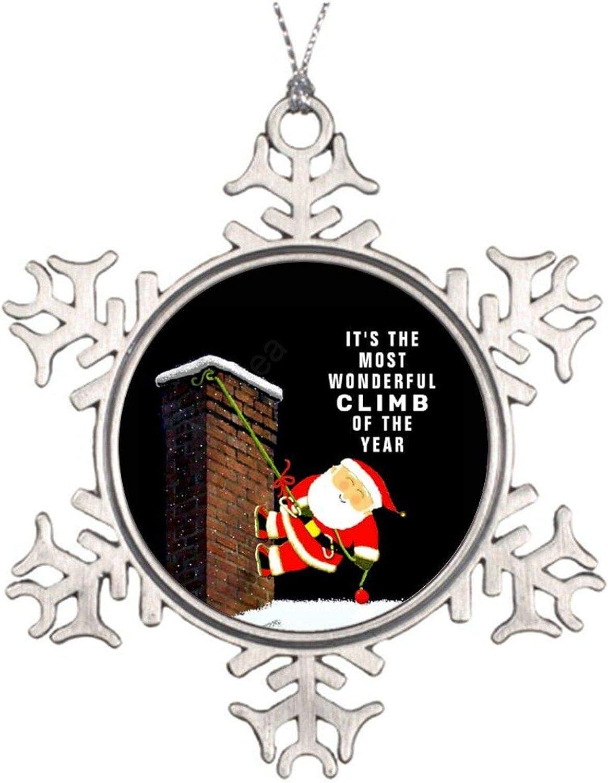 VinMea Christmas Ornaments Snowflake Peace Love /& Joy Christmas Metal Christmas Ornaments for Decorating Christmas Trees,Holiday Party,Wedding
