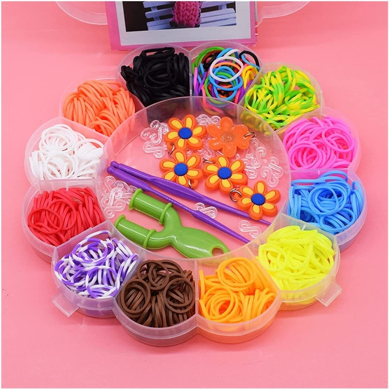 Department store HWYJ Rubber Band Bracelet Colorful Kids shopping Toys Bands Bracel