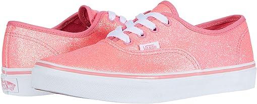 (Neon Glitter)Pink/True White