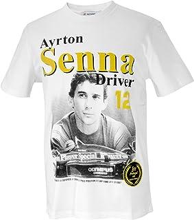 MBA-SPORT Ayrton Senna Maglietta Casco