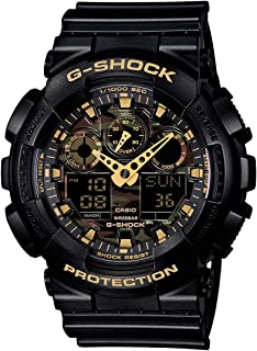 GSHOCK mens Automatic Watch Analog-digital Display and Resin Strap GA100CF-1A9