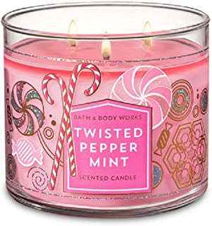 Bath & Body Works 3-Wick Scented Candle in Twisted Peppermint