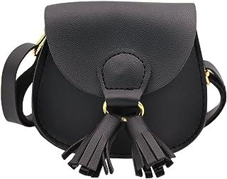 ZGMYC Little Girls Cute Tassel Crossbody Purse Mini Shoulder Handbag Wallet for Kids Toddlers