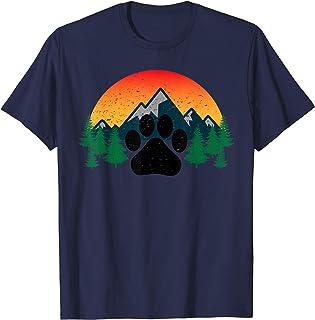 Black Labrador Retriever Outline Silhouette Evergreen T-Shirt