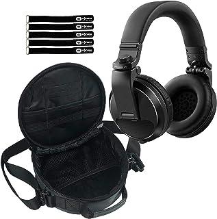 $108 » Pioneer DJ HDJ-X5 Professional Over-Ear Black DJ Headphones w Carry Case
