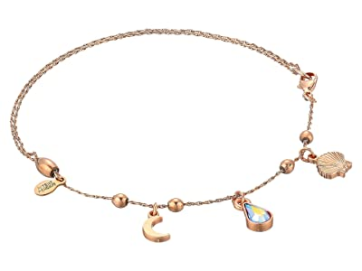 Alex and Ani Oceanside Anklet (Shiny Rose) Bracelet