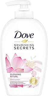 Dove Nourishing Secrets Glowing Ritual Hand Wash With Lotus Flower Extract And Rice Water, 250ml