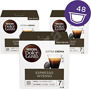 Capsules Nescafé Dolce Gusto • Pack Familial Multi-Boissons en qualité professionnelle (Espresso Intenso • Pack Espresso I...