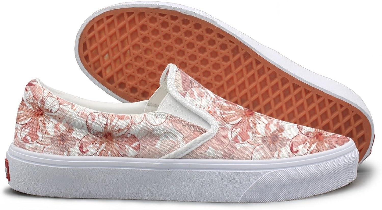 Japanese Cherry Blossom Slip On Sneakers Women