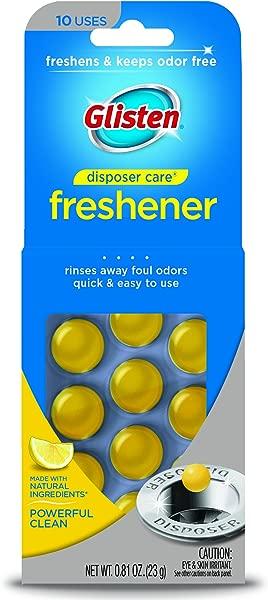 Glisten Disposer Care Freshener Lemon Scent 10 Use