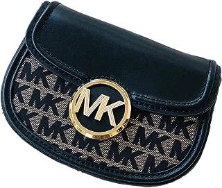 Fulton Small Belt Bag Crossbody Black Signature Logo
