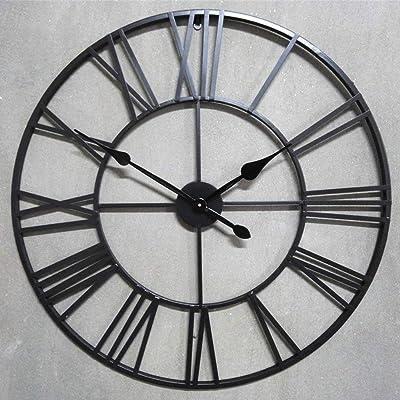 Amazon Com Aspire Rumi Mid Century Wall Clock Brown