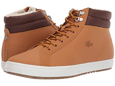 Lacoste Straightset Thermo 419 1 (Tan/Brown) Men