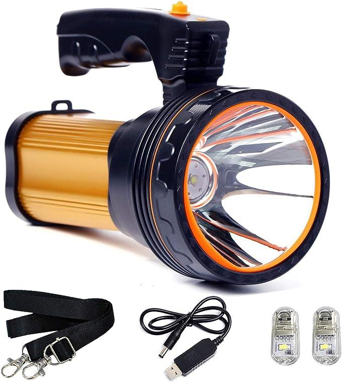307 opinioni per ROMER LED Proiettore Portatile Ricaricabile ad alta Potenza Super Bright 9000 MA