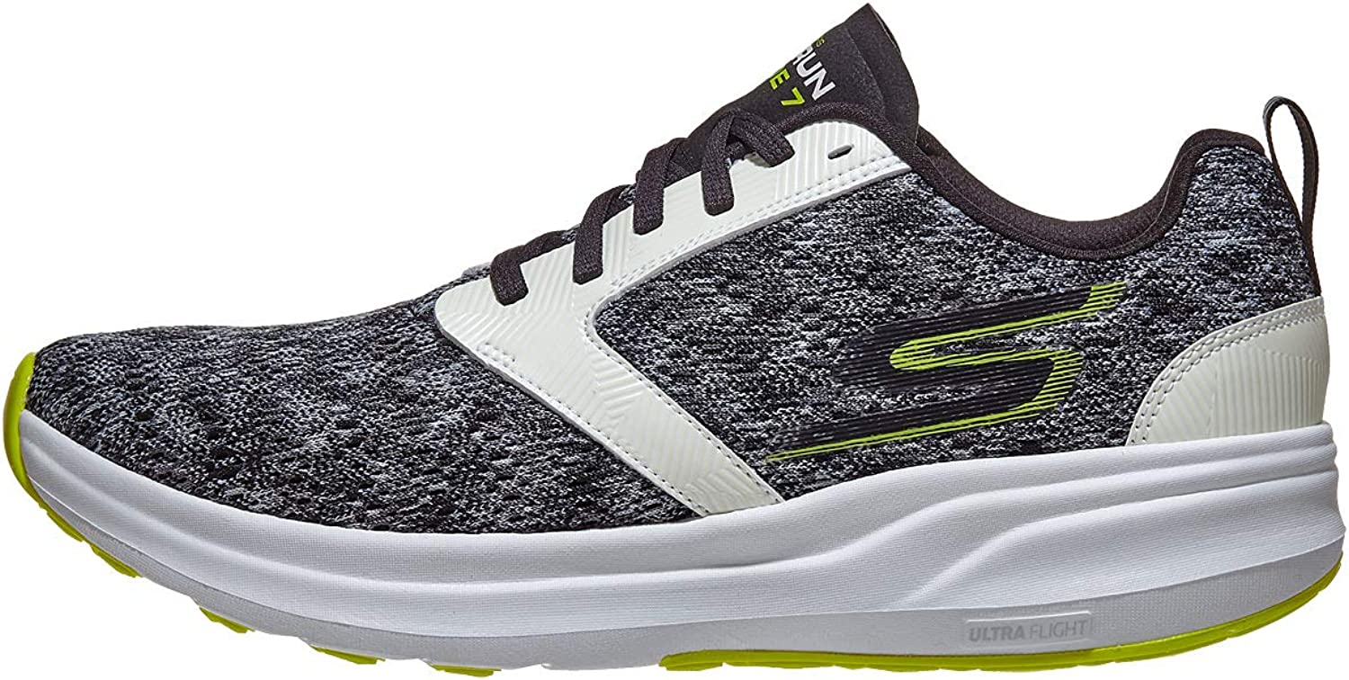 Skechers Men's GOrun Ride 7 Night Owl High Visibility shoes