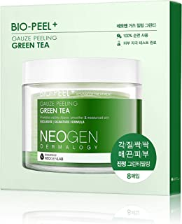NEOGEN DERMALOGY BIO-PEEL GAUZE PEELING GREEN TEA 0.32 oz / 9.5ml (8 PADS)