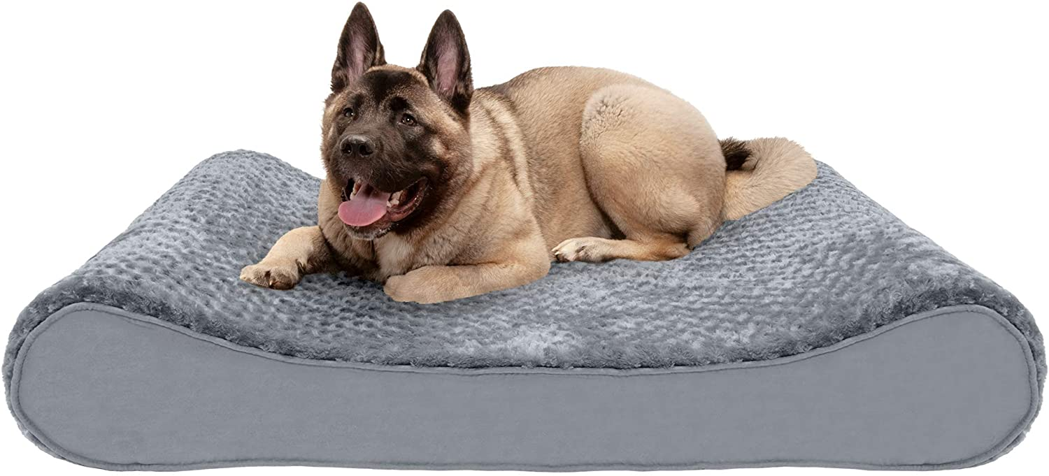 Furhaven Orthopedic Cooling Easy-to-use Gel and Memory Foam In a popularity Pet S for Beds