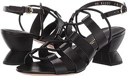 2f389a390b7 Salvatore ferragamo elastic platform sandal