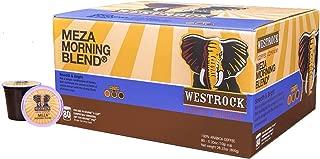 Westrock Coffee Meza Morning Blend Medium Roast Single Serve Gourmet Coffee 80 Count Cups