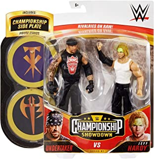 WWE Championship Showdown Series 1 Undertaker and Jeff Hardy 2 Pack