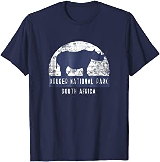 Men's Rhino South African Safari National Park T Shirt