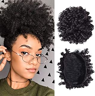 Best curly bun with drawstring ponytail Reviews