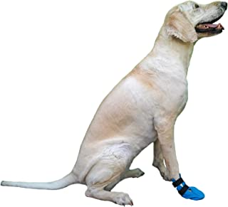Wound Recovery Boot Dogs. Protects Heals Paw. Made from Softshell, Waterproof Breathable Material. Recommended Vets.