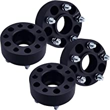 1.5 inch per side Hubcentric vehicle to 5x4.5 wheel bolt patterns with 1//2 4 QTY Black Wheel Spacers Adapters 3 fits all 5x4.5 5x114.3 RH threads Jeep Wrangler TJ Cherokee Liberty