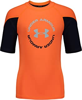 Under Armour Boys' Ua Comp Short Sleeve T-Shirt Rashguard