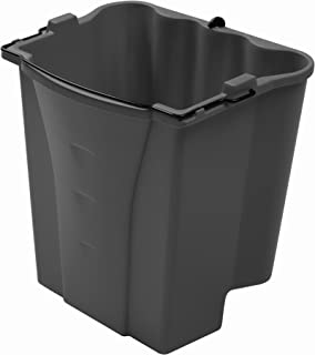 Rubbermaid Commercial Executive Series Dirty Water Bucket, Gray (1863900)