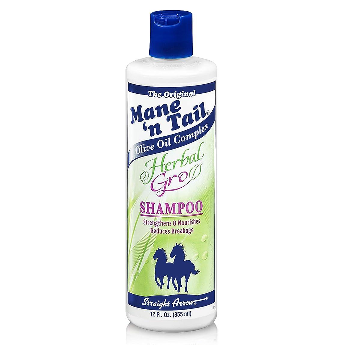 治療書き込み塩辛いストレートアローハーブ育毛シャンプー 355ml (並行輸入品)