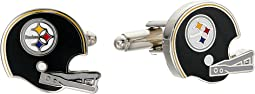 Cufflinks Inc. - Retro Pittsburgh Steelers Helmet Cufflinks