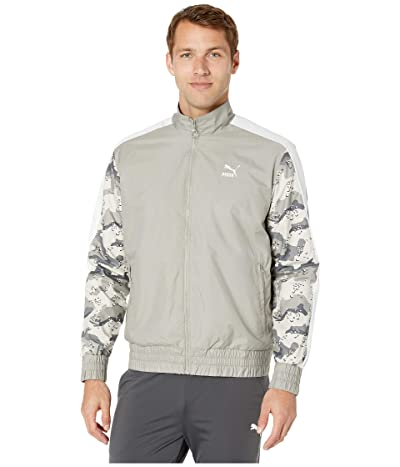 PUMA Wild Pack Woven Full Zip Jacket (Elephant Skin) Men