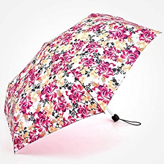 Women's Sun Protection Umbrellas Ultralight Portable Folding Umbrellas Rain and Rain Umbrellas Four Styles of Color Optional LJJOZ (Color : C)