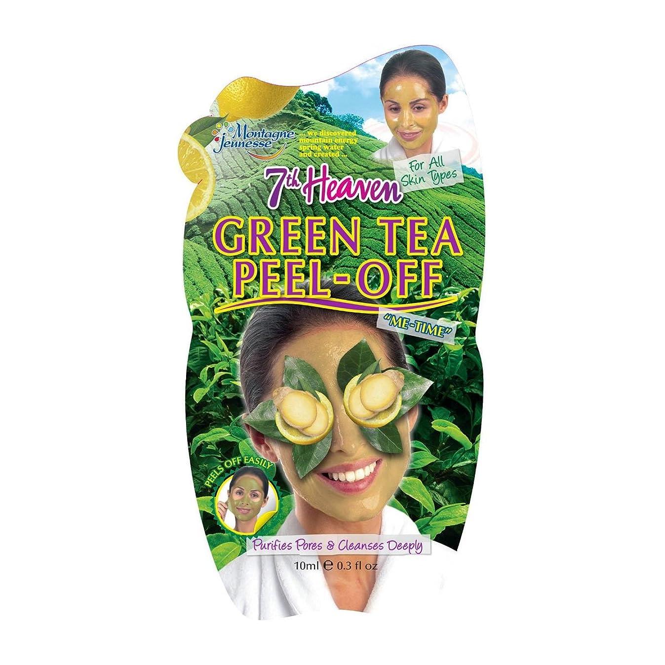 先のことを考える不健全テーマMontagne Jeunesse Green Tea Pell-off Mask 10ml [並行輸入品]