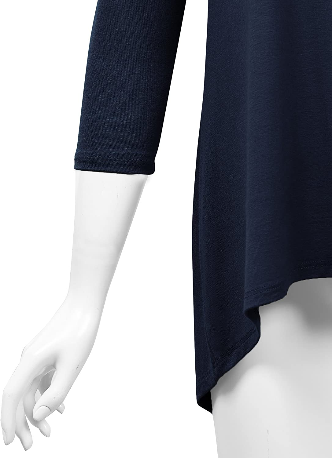 MBJ Womens Oversized High Low Tunic Made in USA