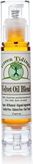 Green Tidings Organic Velvet Oil Blend for Men,Women,Kids,& Babies   Gluten-Free & Fair-Trade Oil Blend  100% Natural for ...