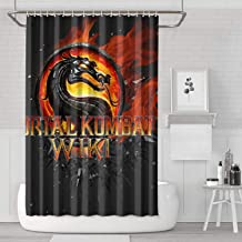 Unicorns Farting Shower Curtain with Hooks Fun Quality Mortal-Kombat-Wiki- Baby Shower Curtains Bathroom Bath Shade